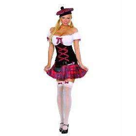 escocesa sexy, disfraz de Amazon.com