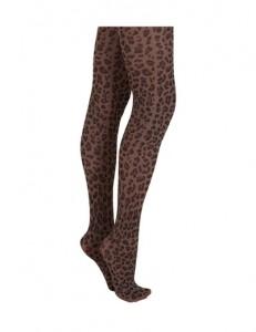 Medias print leopardo