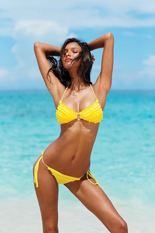 Bikini amarillo de Victoria's Secret